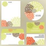 επιχειρησιακό floral πρότυπο Στοκ Εικόνες