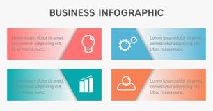 Επιχειρησιακό infographic πρότυπο διανυσματική απεικόνιση