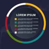Επιχειρησιακό infographic πρότυπο στοκ εικόνες με δικαίωμα ελεύθερης χρήσης