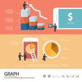 Επιχειρησιακό infographic/infographic στοιχείο/ποιοτικό σχέδιο ύψους Στοκ φωτογραφία με δικαίωμα ελεύθερης χρήσης
