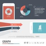 Επιχειρησιακό infographic/infographic στοιχείο/ποιοτικό σχέδιο ύψους Στοκ φωτογραφίες με δικαίωμα ελεύθερης χρήσης