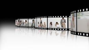 Επιχειρησιακό montage απόθεμα βίντεο