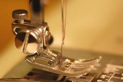 επιχρυσωμένη το En χρυσή ελαφριά ραπτική Στοκ Φωτογραφία