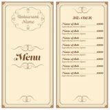 Επιλογές εστιατορίων ή καφέδων Στοκ φωτογραφία με δικαίωμα ελεύθερης χρήσης