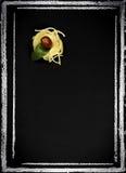 Επιλογές εστιατορίων στον πίνακα κιμωλίας στοκ φωτογραφία με δικαίωμα ελεύθερης χρήσης