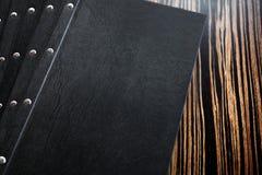Επιλογές εστιατορίων στον πίνακα Στοκ Φωτογραφίες
