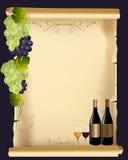 Επιλογές κρασιού Στοκ Εικόνες