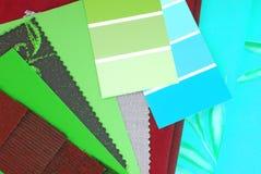Επιλογή σχεδίου χρώματος Στοκ φωτογραφία με δικαίωμα ελεύθερης χρήσης