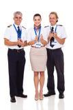 Επιδοκιμασία πληρωμάτων αερογραμμών Στοκ Εικόνα