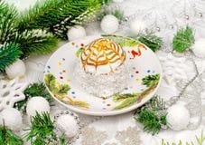 Επιδόρπιο για τα Χριστούγεννα Στοκ Φωτογραφίες