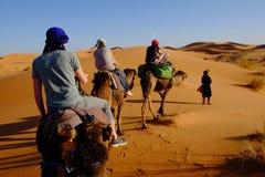 Επιδόρπιο του Μαρόκου Στοκ Εικόνες