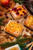 Επιδόρπιο ψησίματος διακοπών Χριστουγέννων Στοκ εικόνα με δικαίωμα ελεύθερης χρήσης
