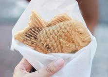 Επιδόρπιο Taiyaki της Ιαπωνίας Στοκ φωτογραφία με δικαίωμα ελεύθερης χρήσης
