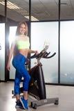 Επιλύστε στη γυμναστική Στοκ Εικόνες
