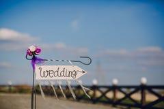 Επονομαζόμενος βέλος γάμος Στοκ φωτογραφία με δικαίωμα ελεύθερης χρήσης