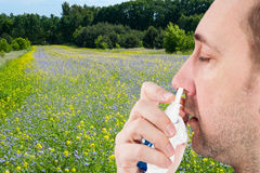 Εποχή αλλεργίας Στοκ εικόνα με δικαίωμα ελεύθερης χρήσης