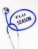 Εποχή γρίπης Στοκ Εικόνα