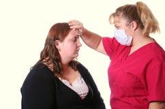 εποχή γρίπης Στοκ εικόνες με δικαίωμα ελεύθερης χρήσης