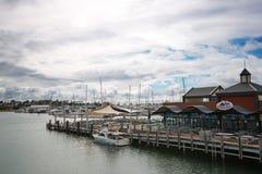 Εποχή κυκλώνων στη δυτική Αυστραλία Στοκ Εικόνα