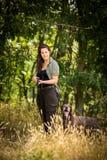 Εποχή κυνηγιού φθινοπώρου κυνήγι στοκ φωτογραφίες
