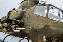 Εποχή του Βιετνάμ ελικοπτέρων Apache Στοκ Εικόνες