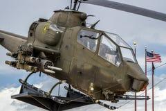 Εποχή του Βιετνάμ ελικοπτέρων Apache Στοκ φωτογραφίες με δικαίωμα ελεύθερης χρήσης