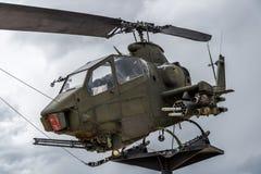 Εποχή του Βιετνάμ ελικοπτέρων Apache Στοκ φωτογραφία με δικαίωμα ελεύθερης χρήσης