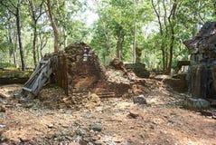 Εποχή Angkor ναών σκασιμάτων Kra Prasat Στοκ φωτογραφίες με δικαίωμα ελεύθερης χρήσης