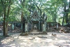 Εποχή Angkor ναών σκασιμάτων Kra Prasat Στοκ Εικόνες