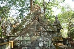 Εποχή Angkor ναών σκασιμάτων Kra Prasat Στοκ Φωτογραφία