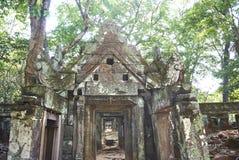 Εποχή Angkor ναών σκασιμάτων Kra Prasat Στοκ εικόνα με δικαίωμα ελεύθερης χρήσης