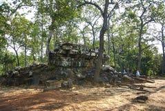 Εποχή Angkor ναών Boeung Khna Prasat Στοκ Εικόνα