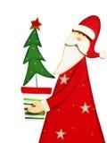 εποχή santa Claus Χριστουγέννων Στοκ Εικόνα