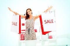 Εποχιακή πώληση Στοκ εικόνες με δικαίωμα ελεύθερης χρήσης