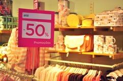 Εποχιακή πώληση Στοκ Εικόνα