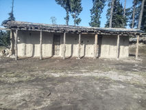 Εποχιακό σπίτι στο Κασμίρ στοκ εικόνες με δικαίωμα ελεύθερης χρήσης