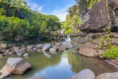Επτά ιερές λίμνες Hana Maui Στοκ φωτογραφία με δικαίωμα ελεύθερης χρήσης