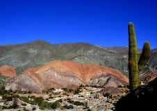 Επτά χρωματισμένοι λόφοι Cerro de Los Siete Colores Στοκ Φωτογραφίες