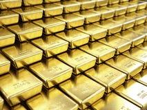 λεπτές χρυσές ράβδοι απεικόνιση αποθεμάτων