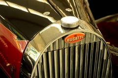 1936 λεπτομέρεια καγκέλων & θερμαντικών σωμάτων Bugatti Στοκ Εικόνες