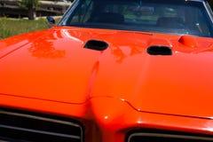 1969 λεπτομέρεια Pontiac GTO Στοκ Φωτογραφίες