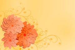 λεπτομερές ανασκόπηση floral διάνυσμα σχεδίων απεικόνιση Στοκ Φωτογραφία
