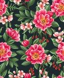 λεπτομερές ανασκόπηση floral διάνυσμα σχεδίων Στοκ Φωτογραφία