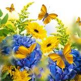 λεπτομερές ανασκόπηση floral διάνυσμα σχεδίων Στοκ Φωτογραφίες