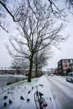 λεπτομερής διανυσματικός καιρικός χειμώνας χιονιού ανθρώπων απεικόνισης εικονιδίων Στοκ φωτογραφίες με δικαίωμα ελεύθερης χρήσης