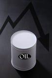 λεπτομερής σειρά πετρελαίου κινούμενων σχεδίων κρίση πολύ Στοκ Εικόνες
