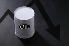 λεπτομερής σειρά πετρελαίου κινούμενων σχεδίων κρίση πολύ Στοκ εικόνες με δικαίωμα ελεύθερης χρήσης
