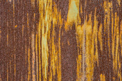 λεπτομερής τεμαχίων μετάλλων σύσταση επιφάνειας σκουριάς σκουριασμένη στοκ εικόνα