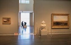 λεπτό μουσείο τεχνών στοκ φωτογραφίες