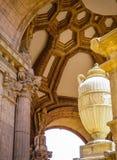λεπτό παλάτι τεχνών Στοκ Εικόνες